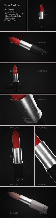 Lipstick Mock-up - Beauty Packaging