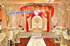 #Wedding #Fiber #Carved #Kite #Pillar #Mandap #Dstexports