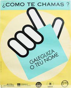 [A Mesa pola Normalización Lingüística, Universidade de Santiago de Compostela, Comités Abertos de Facultade (CAF),  UDEGA e MURGA, 1991] Cgi, Nail, Universe, Santiago De Compostela