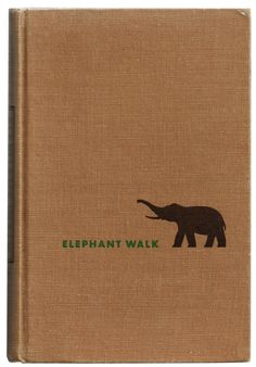 Elephant Walk by Robert Standish, 1949 book cover
