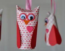 #Owl #recycle - Coruja feita com rolos de papel higiênico