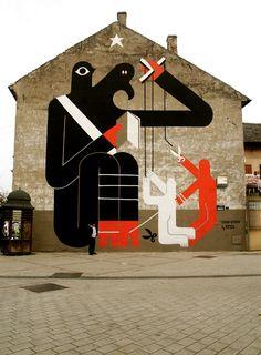 Remed + RQM Collaboration - unurth   street art