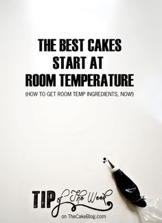 Cake & Baking Tips  from TheCakeBlog.com