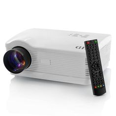 3000 Lumens LED HD Projector 1280x768 2000:1 Home Theater