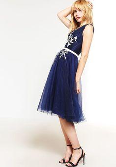 Zalando kleider festlich blau