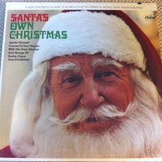 Santa's Own Christmas Vinyl Record Sealed LP Capitol Santa Claus Saint Nicholas North Pole Jingle Bells by vintagebaronrecords on Etsy