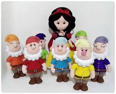 Mimo Artes: Branca de Neve e os 7 Anões