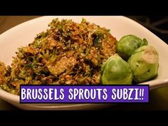 Brussels sprouts have finally found a place for themselves in the superfoods category – yes, so happy for them 😉! These days everyone is on a low carb quest . Vegetarian Xmas, Vegetarian Side Dishes, Ghee Butter, Vegan Substitutes, Dried Mangoes, Red Chili Powder, Whole 30 Recipes, Coriander, Stir Fry