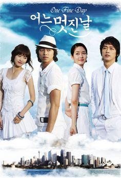 ONE FINE DAY: Gong Yoo, Sung Yu Ri, Nam Gung Min e Lee Yeon Hee. Muito bonito o drama de 2006, mas poderia ter acabado no episódio 15. O 16 foi o mais chato.