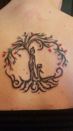 Mother daughter tattoos design ideas 33