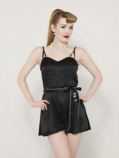 dd85ab33d5089 1930s Lounging Short Pajamas L8011  110.00 AT vintagedancer.com 1930s  Dress
