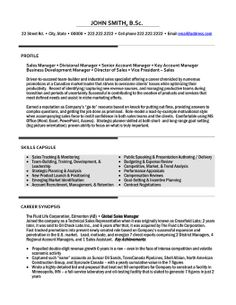 49 Best Management Resume Templates Samples Images Sample Resume