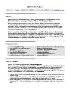 Management Resume Template General Manager Resume