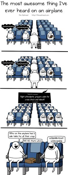 The most awesome thing I've ever heard on an airplane - The Oatmeal