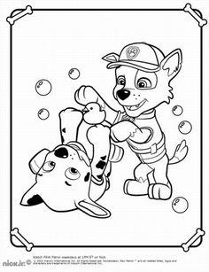 paw patrol paw patrol coloring pages