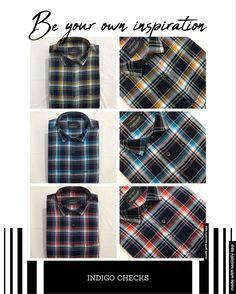 Casual Wear, Casual Shirts, Indigo, How To Wear, Fashion, Casual Outfits, Moda, Casual Clothes, Indigo Dye