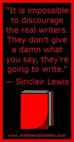 agree in principle... but if the writer gives no damns at all, he's not trying to be a better writer.