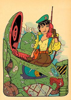 Sgt. Anika by RalphNiese.deviantart.com on @DeviantArt