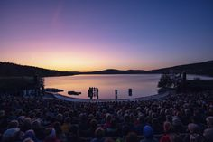 Together with the Peer Gynt Festival and its theater director Marit Moum Aune, Snøhetta has developed an innovative new scenography for the Peer Gyn... Outdoor Theater, Playwright, Norway, Illusions, Innovation, Backdrops, Exterior, Adventure, Landscape