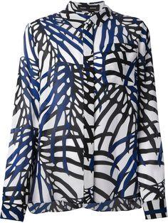 Proenza Schouler Foliage Print Shirt - Monti - Farfetch.com