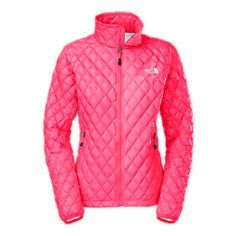 Women's North Face quilted jacket