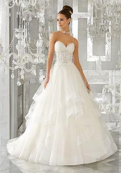 Mori Lee 5570 Mindy Wedding Dress