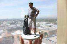 3D printed golf dude! Get your mini statue at twindom.com