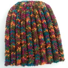 Bright #knit hat! Cozy weather for reading, writing, and knitting. :)