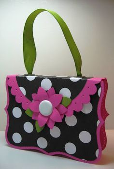 Inking Idaho: Top Note Purse Instructions  Stampin' Up!