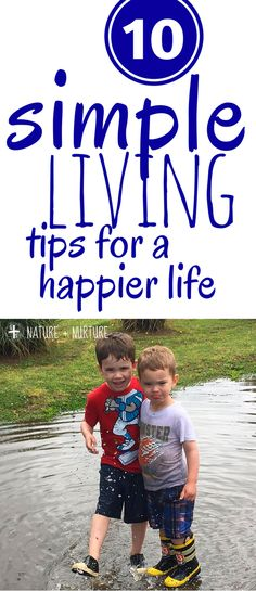 Simple living is difficult in today's world, but it can be done! Click to read about the ten different areas that will help you learn how to live simply + be happier!