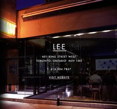Susur Lee is a gastronomic genius!! Lee Lounge is simply the best restaurant I've ever eaten at.  Go!  Downtown Toronto.  Google that shee-it!