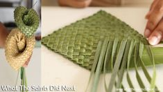 New Photos flax weaving techniques Ideas How To Make A Flax Flower – A Step By Step Guide Flax Weaving, Basket Weaving, Weaving Process, Weaving Techniques, Leaf Crafts, Diy Crafts, Mosaic Crafts, Flax Flowers, Types Of Textiles