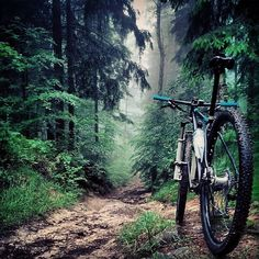 There is no bad weather for cycling. (Foto: R.Fahr) // #mtb #cycling #ride…