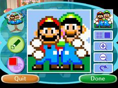 PATTERNS | Animal Crossing - Mario Bros. by Frelly-Is-Kelly | deviantart.com