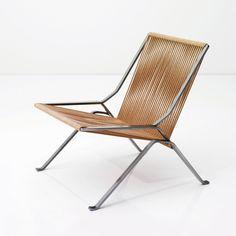 PK 25, designed by Poul Kjaerholm, made by Kold Christensen, 1951