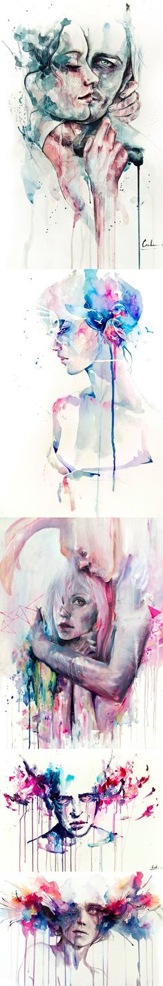 SILVIA PELISSERO Beautiful watercolors by Silvia Pelissero. The problem is just trying to pick one.. They are all so good!