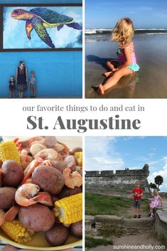 Our Favorite Things to Do and Eat in St. Augustine - Sunshine and Holly Visit Florida, Florida Vacation, Florida Travel, Florida Beaches, Florida Trips, Dc Travel, Places To Travel, Places To Go, London Travel