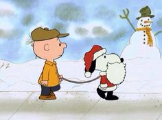 Charlie Brown and Snoopy Claus