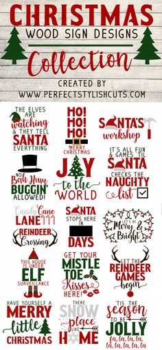 free and cheap DIY holiday sign ideas with silhouette and cricut. The best ideas… free and cheap DIY holiday sign Holiday Fonts, Christmas Fonts, Christmas Vinyl, Merry Christmas, Christmas Signs Wood, Holiday Signs, Christmas Design, Holiday Decor, Holiday Ideas