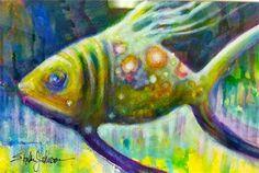 art fish- fish art  www.erikajohnsonc...