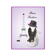 A lovely modern design with Paris's Eiffel Tower and a pretty fashion lady in shades on purple and black. #paris #eiffel #tower #france #fashion #lady #purple #modern #decor #canvas #art #print #wall #hanging #pictures #images #hats #flower #swirls #girls #trendy #on #trend #unique #unusual