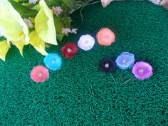Miria hijab pin. Available in 8 variant colors. Tea rose, tosca blue, red, white, peach, black, baby blue, and purple.  Choose your own color :)