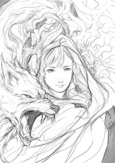 free printable fantasy pinup girl coloring pages Coloring Pages For Girls, Colouring Pages, Coloring Books, Character Illustration, Illustration Art, Stylo Art, Art Tumblr, Shadow Art, Human Art