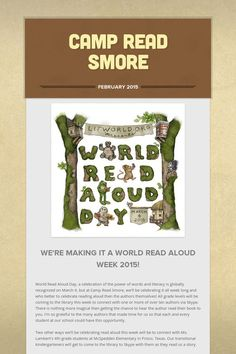 Camp Read Smore Powerful Words, Read Aloud, Camping, Reading, Campsite, Strong Words, Reading Books, Campers, Tent Camping