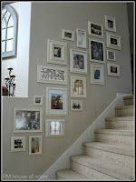 Superbe Stair Gallery Wall