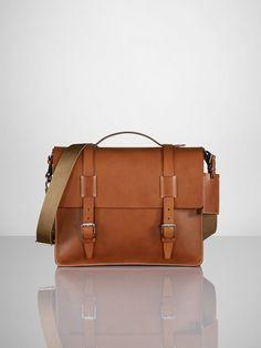 Vachetta Messenger Bag by Ralph Lauren