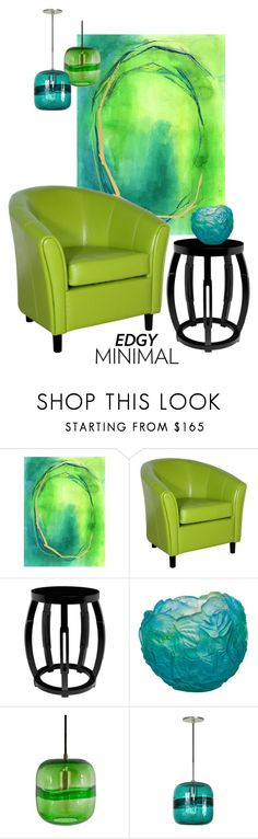 """""""Lime & Teal Minimal"""" by leanne-mcclean ❤ liked on Polyvore featuring interior, interiors, interior design, home, home decor, interior decorating, Home Decorators Collection, Noble House, Bungalow 5 and Daum"""