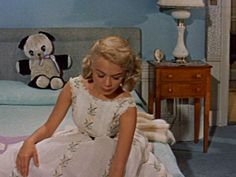 Gidget, 1959 - Sandra Dee Oh she was so so cool.  Everyone wanted to be like her--and she had a great wardrobe.  d.