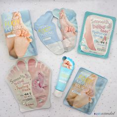 Pamper yourself with these foot masks! They are excellent in peeling away dead skin cells and moisturizing your feet leaving them feeling soft and hydrated.