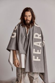 Jared Leto Stars in Fear of God's Sixth Collection Alongside Nike Collab Jared Leto, Grunge Guys, Look Man, Shannon Leto, Just Jared, Lookbook, Nike, Street Wear, Vogue